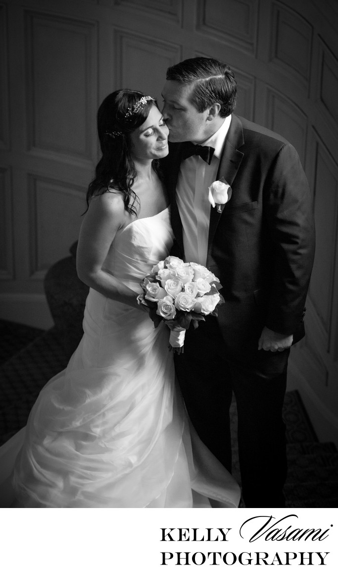 Sleepy Hollow Country Club Bride and Groom Portrait