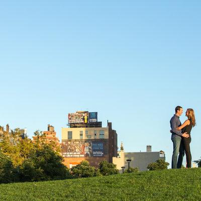 manhattan new york engagement landscape NYC