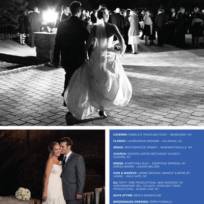 Published Wedding at Brotherhood Winery