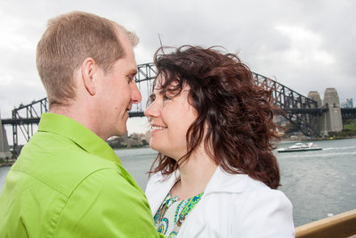 Engagement Photography at Sydney Rocks