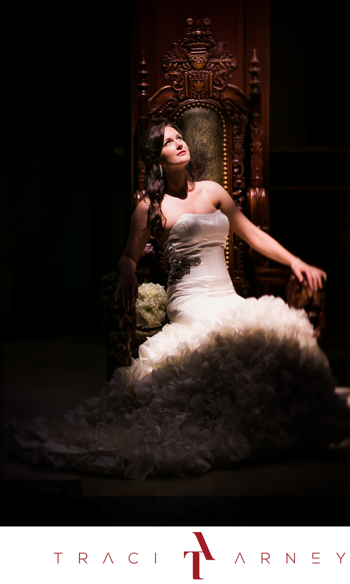 Regal Bridal Session, Grandover Hotel, Greensboro, NC