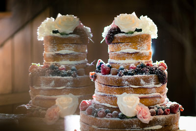 Naked Cake Detail Shot, Adaumont Farm, Trinity NC
