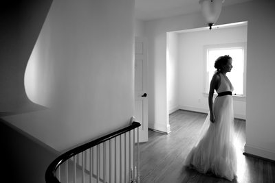 Architectural Bridal Portrait, Tryon Palace Wedding