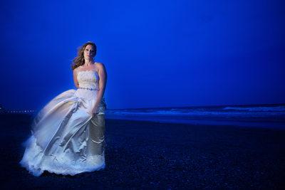 Custom Wedding Gown, Myrtle Beach, SC Bridal Session