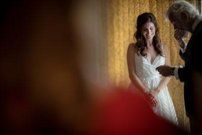 Father & Bride, Terranea Resort Wedding, Palos-Verdes, CA