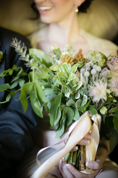Wedding Bouquet Detail, Adaumont Farm, Trinity, NC