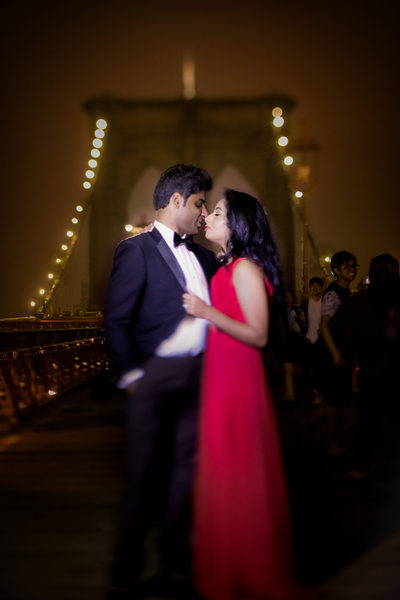 Brooklyn Bridge Engagement Session, New York, NY