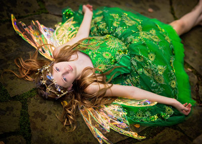 Green and Gold Fairy