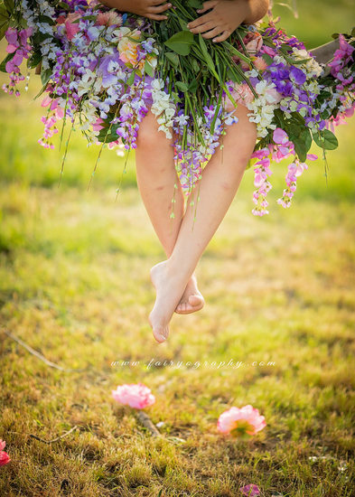 Flower Fairy Toes