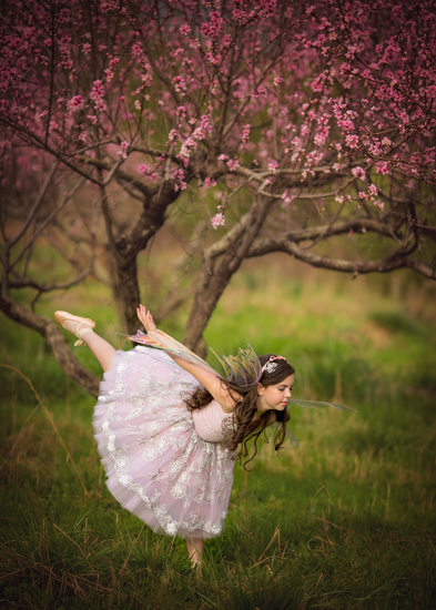 Peach Orchard Ballet Dancer