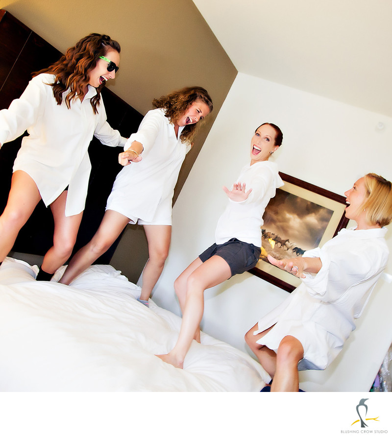 Risky Business Bridesmaids