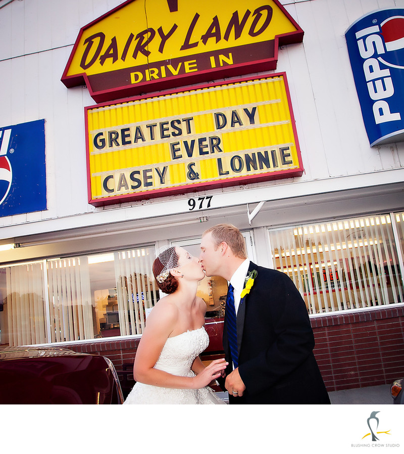 Lander Dairyland sign