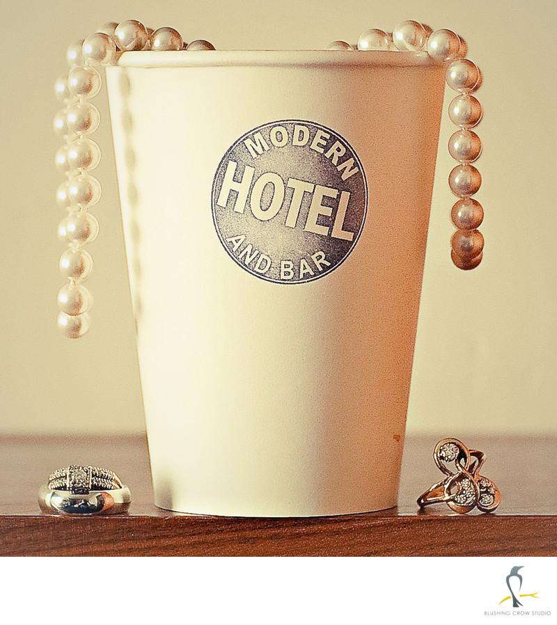 Modern Hotel Boise Idaho Wedding