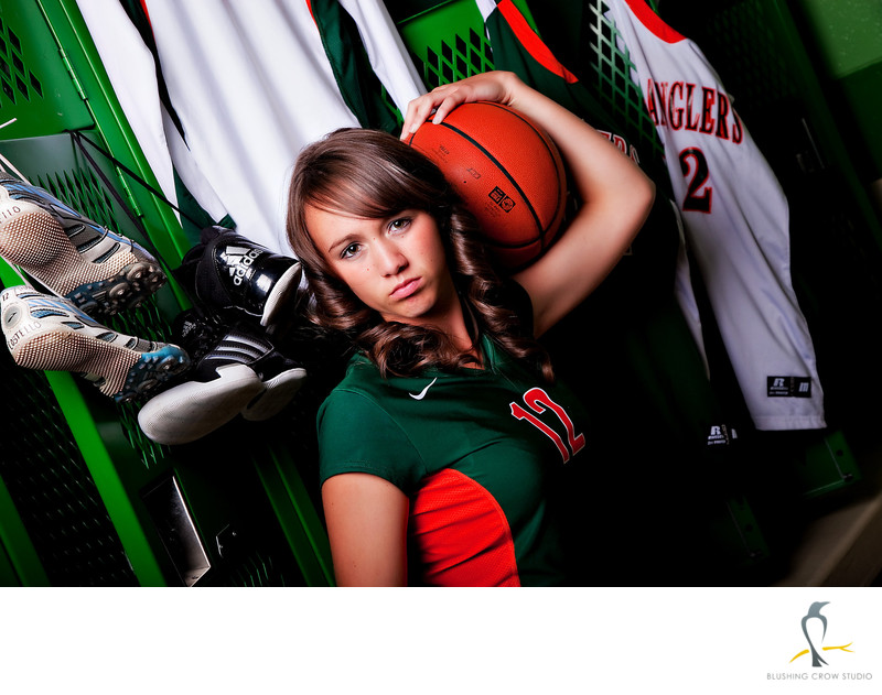 Pinedale High School Athlete Senior Photo
