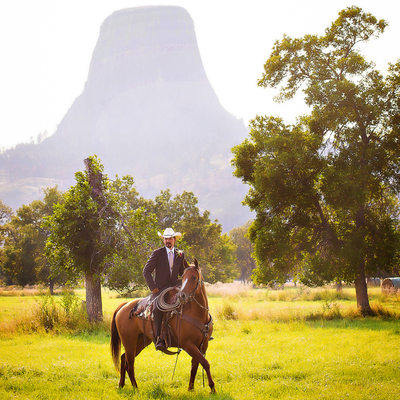 Devils Tower Wedding