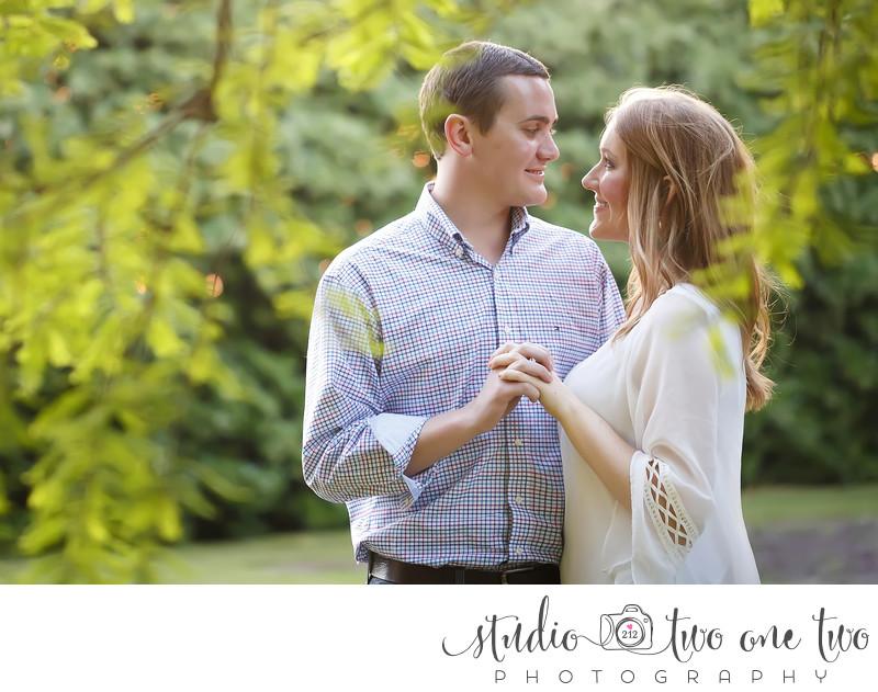 Engagement photos in Columbia, SC
