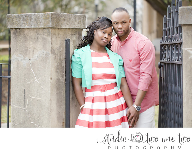 Engagement Photos in downtown Columbia SC