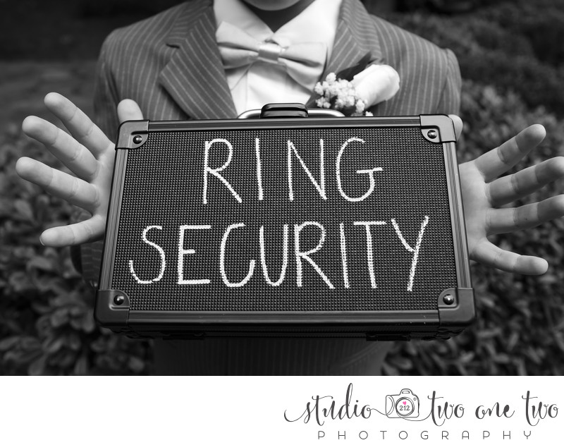 Ring Security wedding details