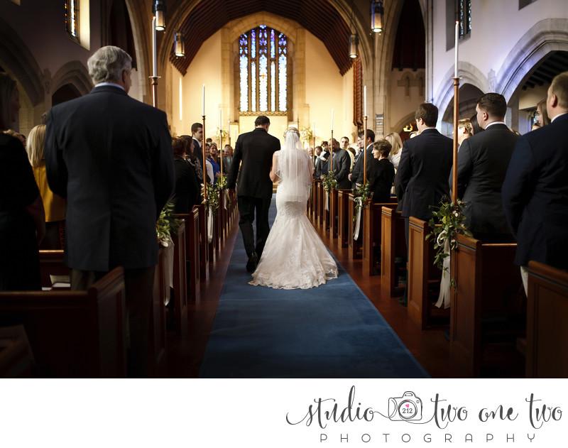 Ebenezer Lutheran Church wedding