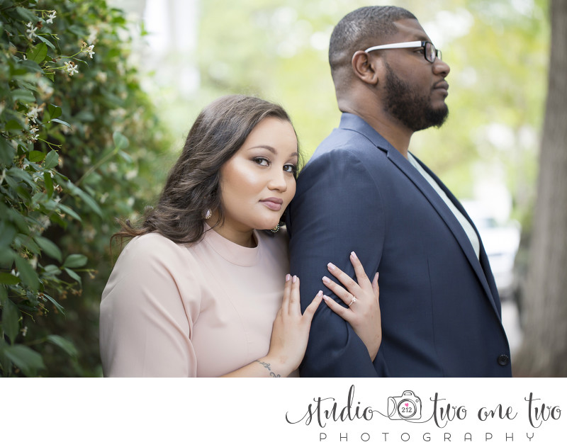 Engagement portraits in Charleston SC