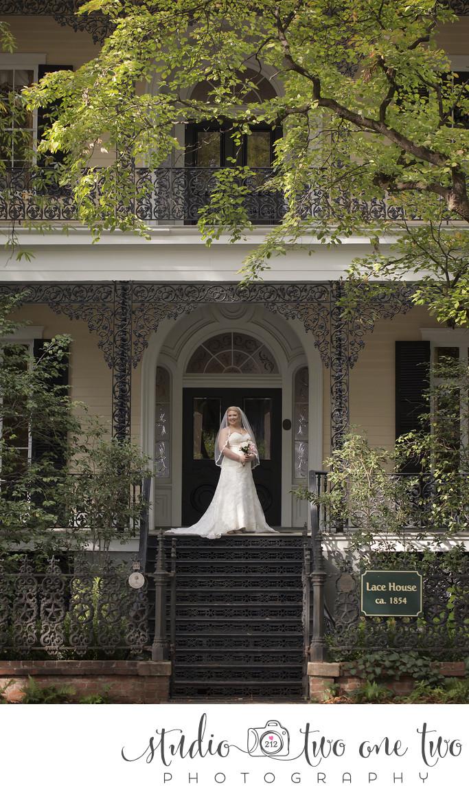 SC Lace House Bridal Photos