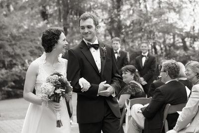wedding photos at Millstone at Adams Pond