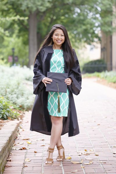 Cap and gown photographer in Columbia SC