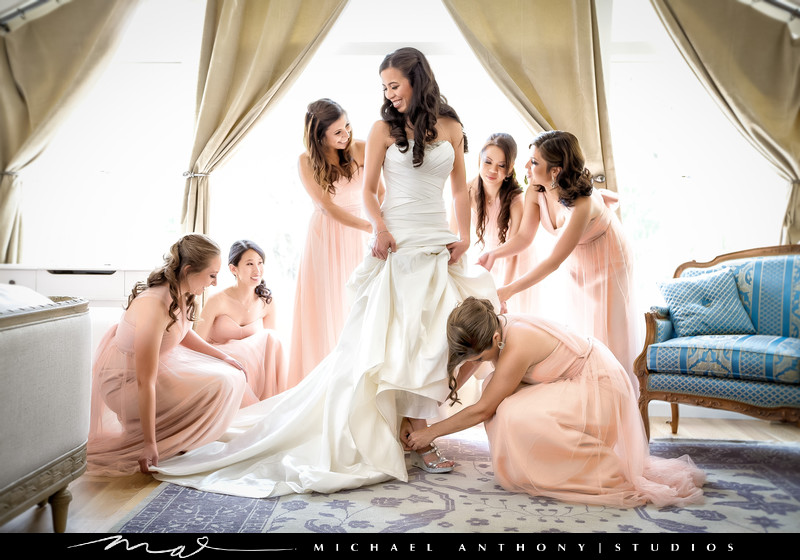 Newhall Mansion Wedding Pictures