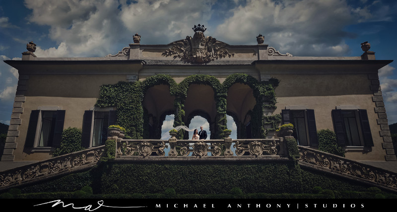 Italian Destination Wedding at Villa Del Balbianello