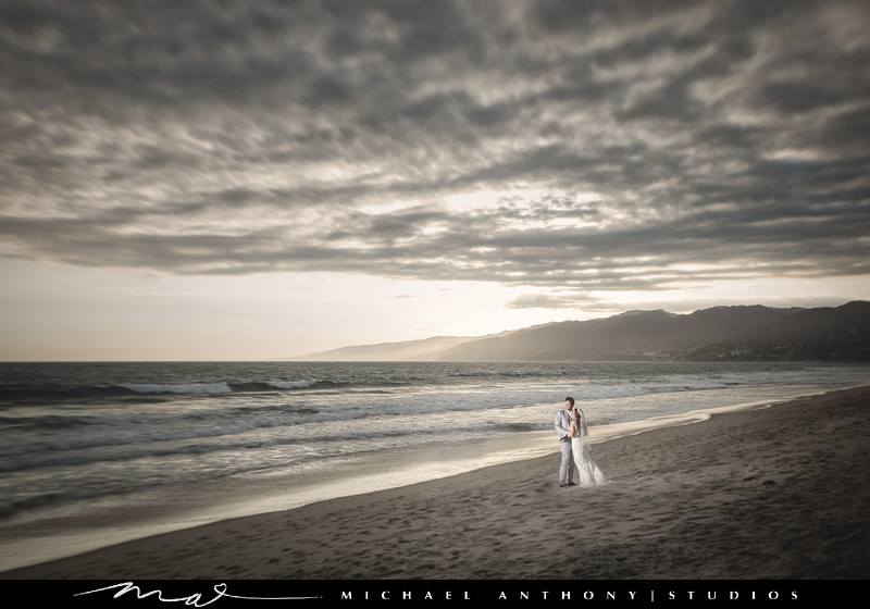 Wedding Photography at Santa Monica Fairmont