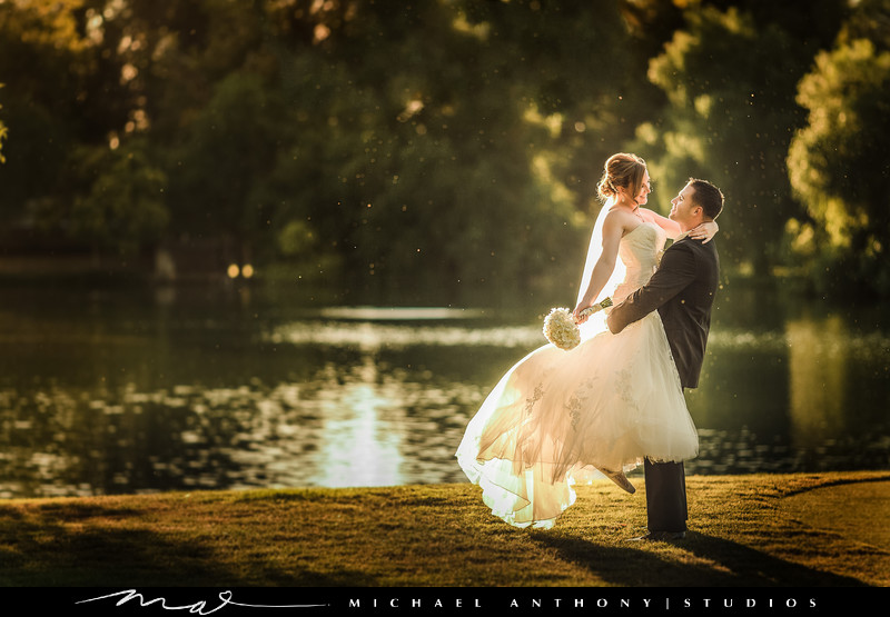 Wedding Photographer for Valencia Country Club