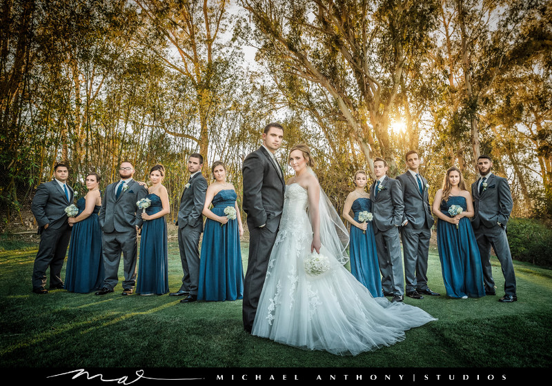 Wedding Photographers for Valencia Country Club