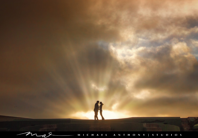 An Engagement session at Baker Beach