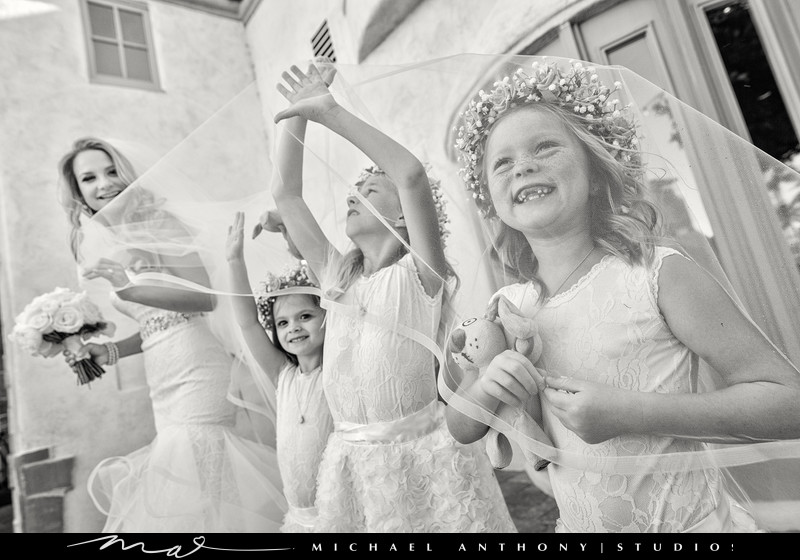 Flower Girl Wedding Photos