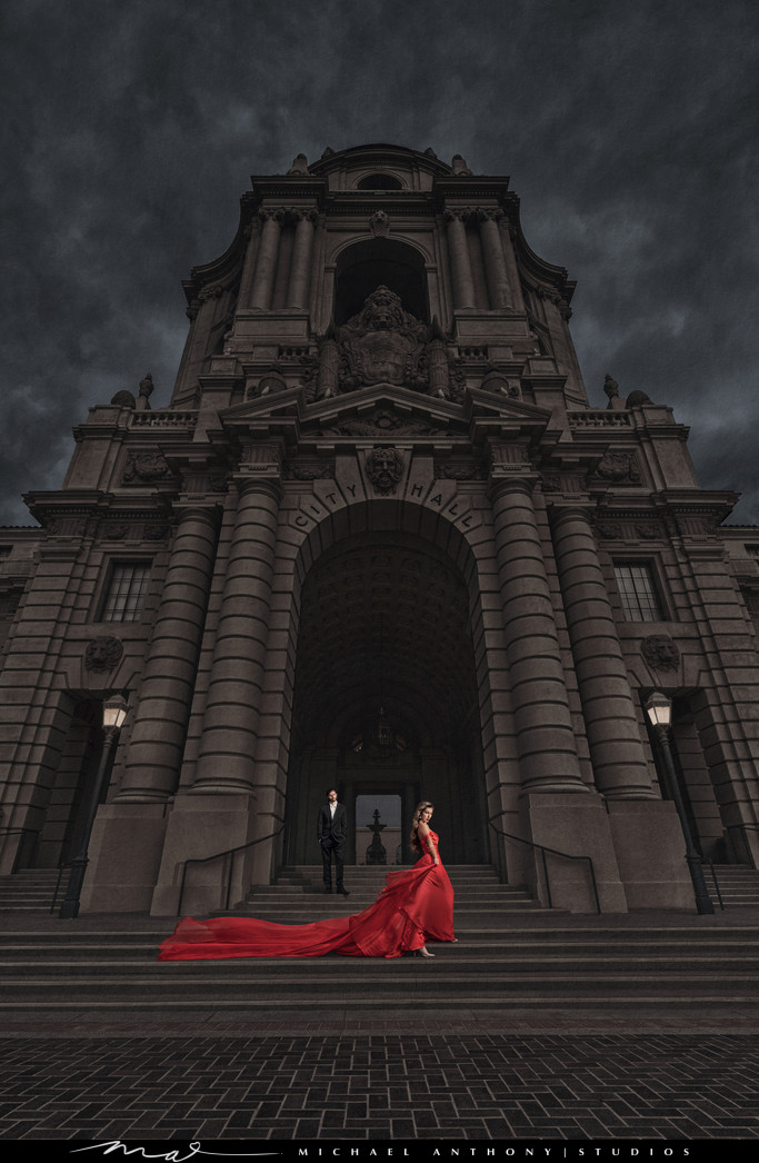 Pasadena-City-Hall-Engagment-Session