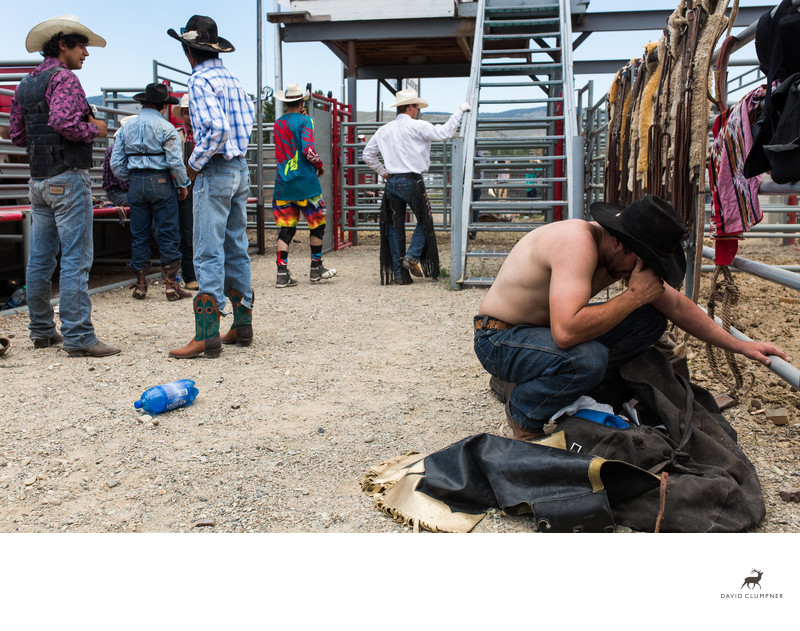 Emotional Cowboy Cries after Failed Ride