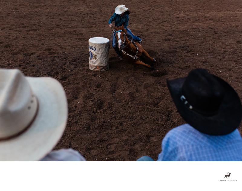 Montana Barrel Racer
