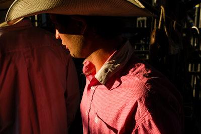 Cowboy at Montana Rodeo