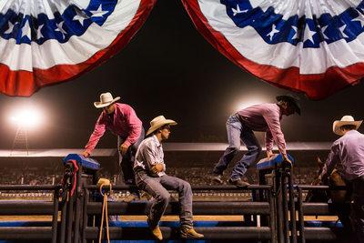 Cowboys at the Plains, Montana Rodeo