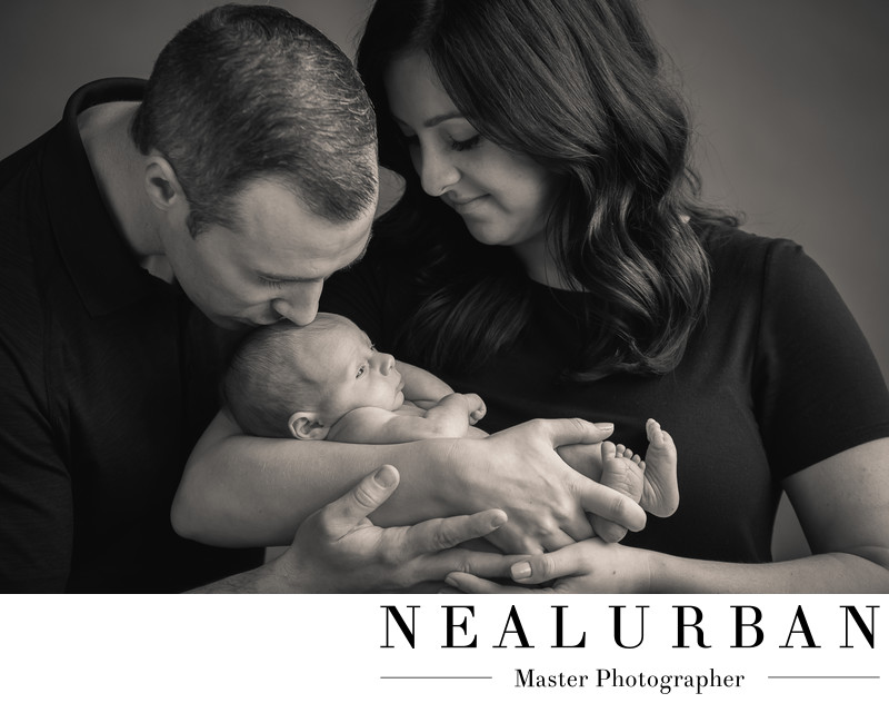 buffalo baby newborn photography studio mother and father