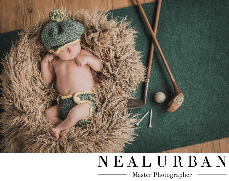 buffalo baby boy newborn golf theme ideas clothes
