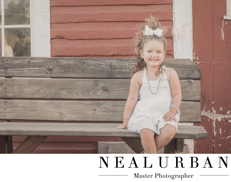 buffalo family photographers knox farm of little girl in outfit