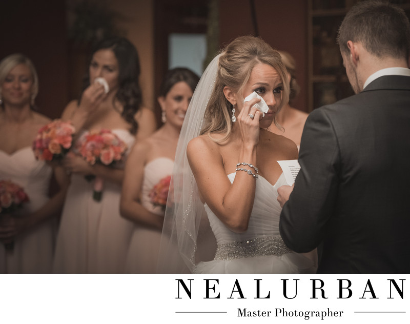 avanti mansion bride cries during ceremony reception
