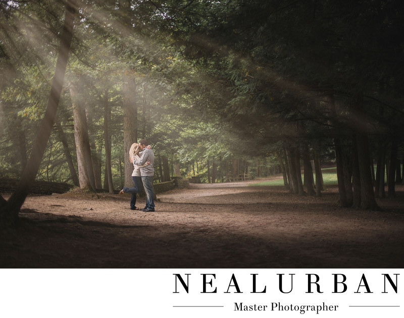 letchworth state park engagement photography location