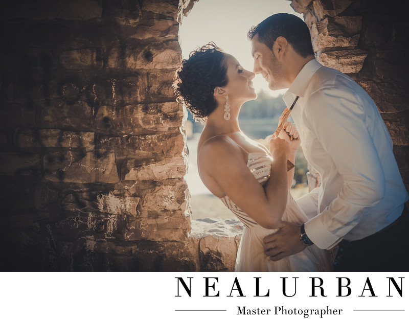 buffalo castle ruins engagement wedding photography