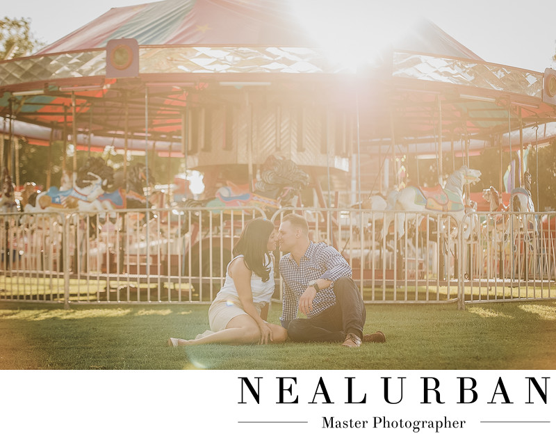 buffalo engagement fair location merry go round lifestyle