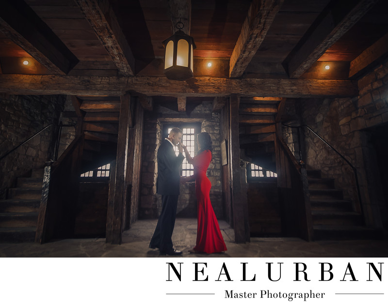 buffalo engagement photography by neal urban fort niagara
