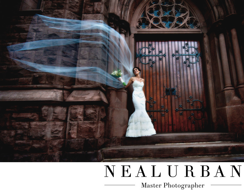 buffalo wedding photographers st louis windy veil weather