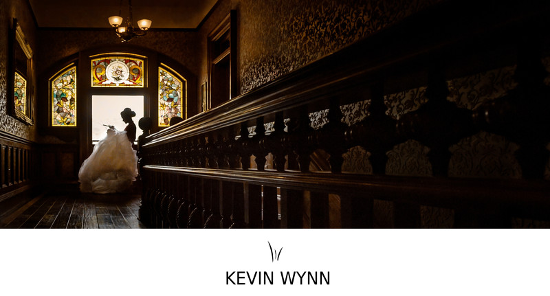 Filmore Wedding Photography at Newhall Mansion
