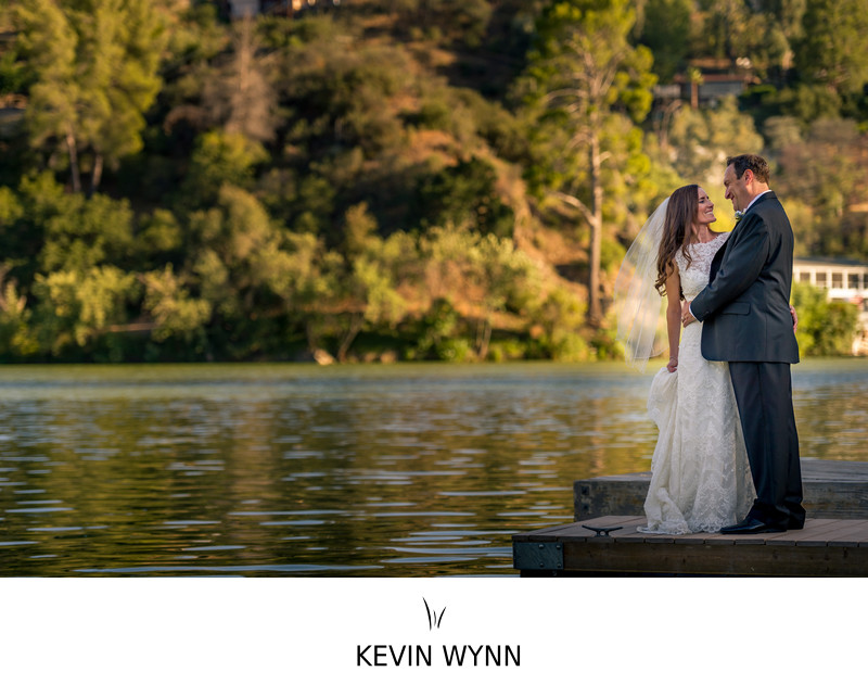Malibu Lake Mountain Club Wedding Photographer